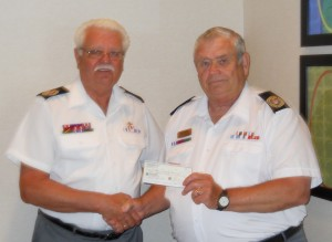 Donation to Veterans